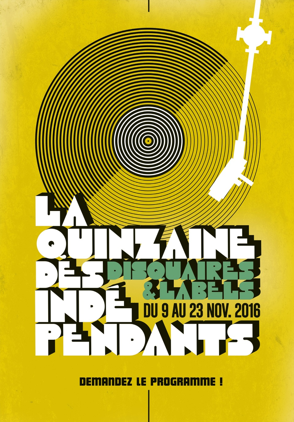 La Quinzaine des Indépendants nov 2016 - Ave the Sound! - 1