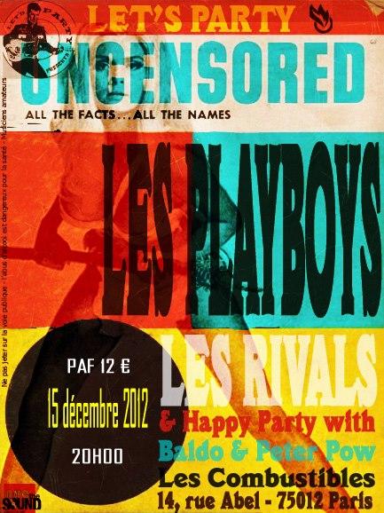 Playboys Paris 2012