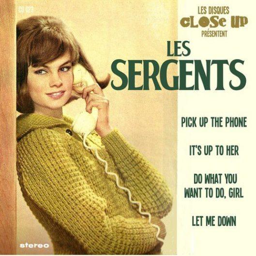 les Sergents cover