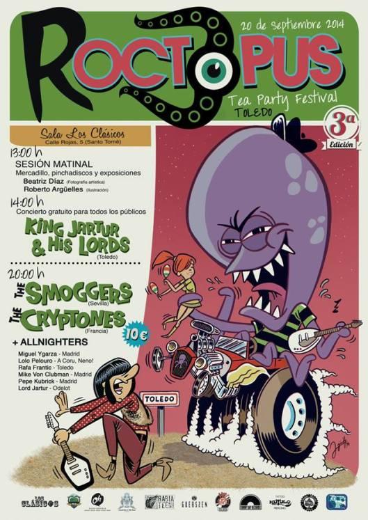 Roctopus Tea party Festival