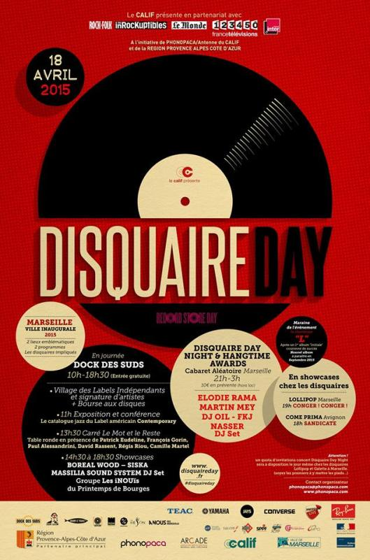 Disquaire Day 2015 PhonoPaca