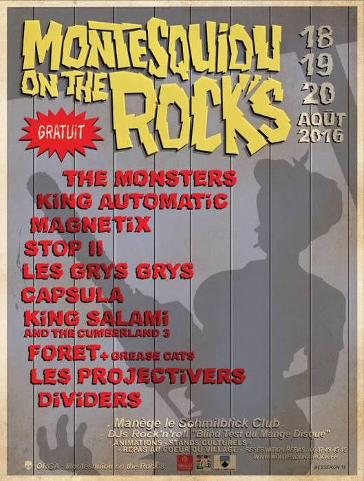 Monstesquiou on the Rocks 2016