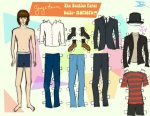 George Harisson Paper Doll