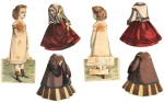 mcloughlin 1858 Paper Dolls