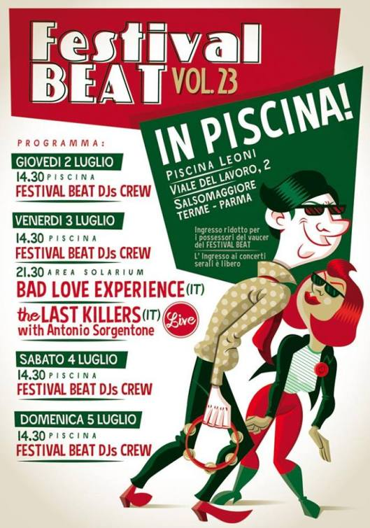Pool Paty Festival Beat 2015