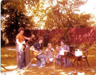 Jim Diamond bass with Inferno, 1978