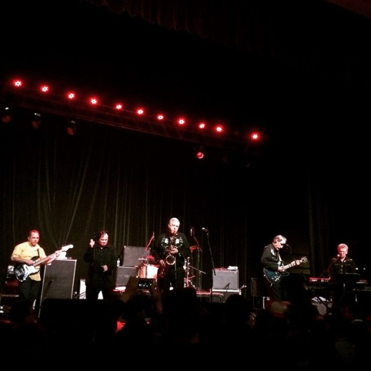 Jim Diamond bass with The Sonics