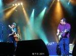Jim Diamond guitar with Tigerman