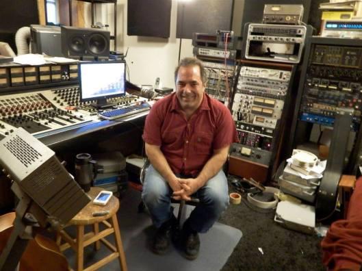 Jim in Ghetto Recorders control room