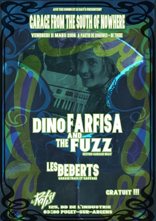 Dino Farfisa et Les Beberts au Rats 11 03 2016 copie