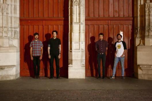 De gauche à droite : Robin, Maxime, Jules, Félix